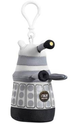 Doctor Who Mini Dalek Talking Plush (White)