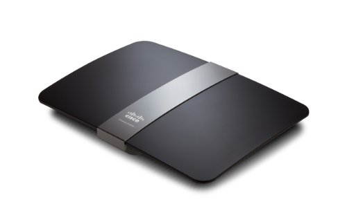 Linksys E4200-EZ Dual-Band in simultanea Wireless-N 300M Gigabit Router (high performance, possibilità di storage via USB e software Cisco Connect)