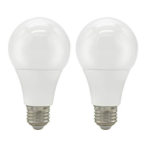 Mininono LED-Glühlampen 15W E27-Sockel, Kaltweiß - 6000 Kelvin, nicht dimmbar, 1350Lm Ersetzt 150 Watt Energiesparlampen, 2er-Pack - Tisch-lampe 150w