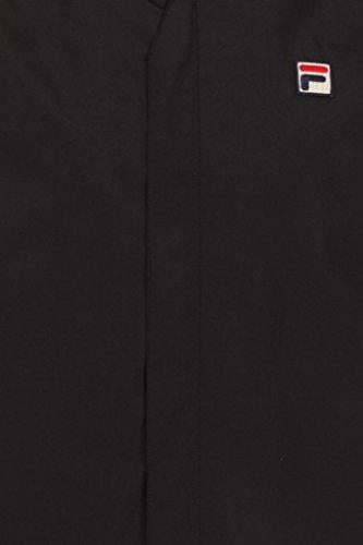 Fila Vintage Homme Tivo Logo Jacket, Noir Noir