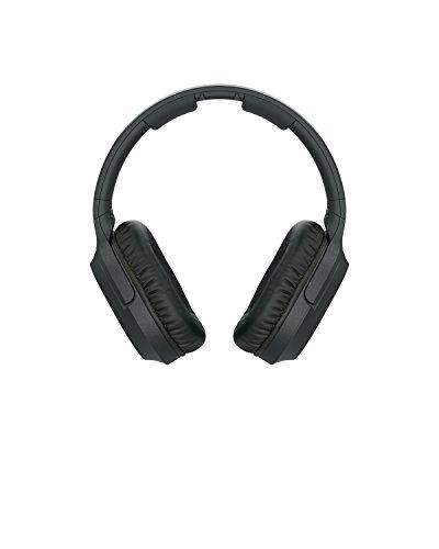 Sony MDR-RF895RK kabellose Kopfhörer (bis zu 100 Meter Reichweite, Geräuschminimierungssystem, 40-mm-Treiber, automatische Frequenzsuche, bis zu 20 Stunden Akkulaufzeit) Schwarz - 5