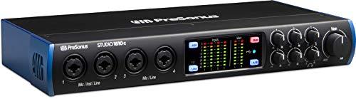 USB-C-Audio-Interface von PreSonus (Studio 1810c) (Presonus Mic Studio)