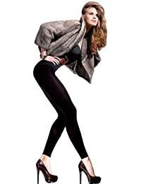 Gabriella Femmes Leggings GB-160 500 DEN (Noir, 3/4 (40-44))