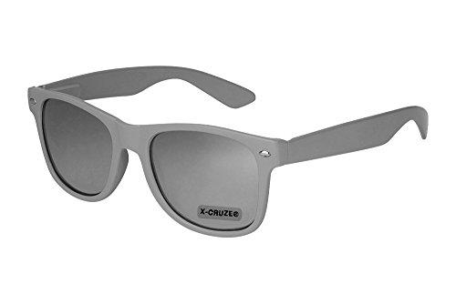 X-CRUZE 8-016 X0 Nerd Sonnenbrille Retro Vintage Design Style Stil Unisex Herren Damen Männer...