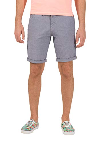 Timezone Herren Slim JannoTZ Shorts, Grau (Micro Grey Check 8644), W29 - Micro-herren-shorts