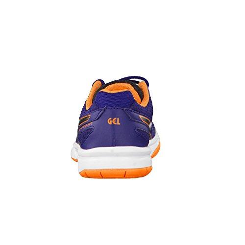 ASICS Gel-Upcourt GS, Scarpe Unisex per Pallavolo Blu arancio