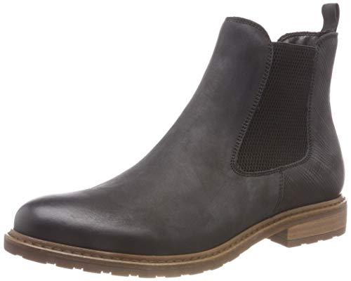 Tamaris Damen 25056-21 Chelsea Boots, Schwarz (Black 1), 39 EU