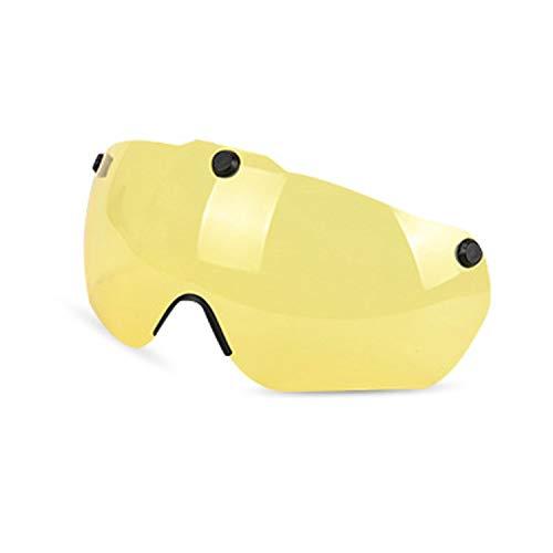 KINGLEAD Bike Helm mit Sicherheit Licht und Shield Visier, CE Zertifiziert Unisex geschützt Fahrradhelm für Radfahren Außen Sport Sicherheit, Leichter Flip Verstellbar...
