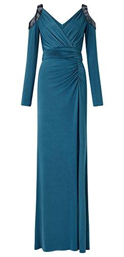 Yoko Open Shoulder Jersey Dress