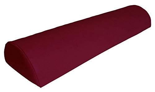 Kingpower TSGPS Halbrolle Knierolle Nackenrolle Massage Therapie Rolle dunkelrot rot -