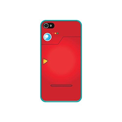 Coque Pokemon Pokedex - Nico - Modèles: iPhone 4/4S - Contour: Bleu