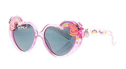 Alfred Franks Peppa Pig Pink Heart Sonnenbrillen