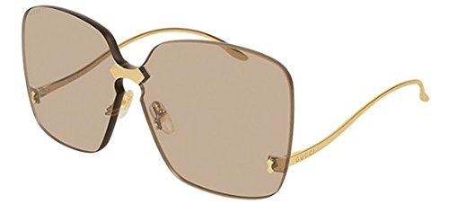 Gucci Sonnenbrillen GG0352S GOLD/BROWN Damenbrillen