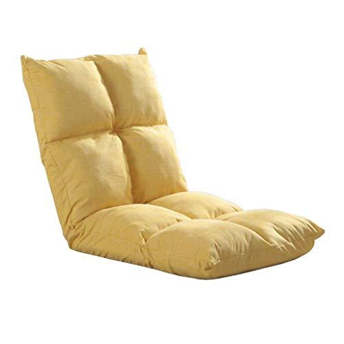 Willsego schienale regolabile per lettino per lettino pieghevole per lettino da gioco pieghevole (verde, viola, giallo) (colore: verde) (colore : giallo, dimensione : -)