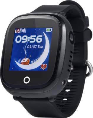 JBC GPS-Telefon Uhr-Modell 2019-Großer Pirat-Wasserdicht mit Kamera und WiFi OHNE Abhörfunktion,SOS Notruf+Telefonfunktion,Live GPS+WiFi+LBS Positionierung,weltweit, Anleitung+App+Support(schwarz)