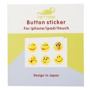 Expression Series Home Button Sticker for iPhone/iPad/iTouch