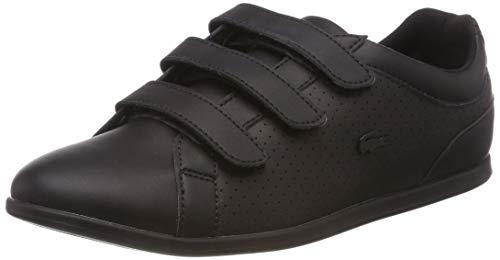 Lacoste Damen Rey Strap 318 2 Caw Sneaker, Schwarz Blk 02h, 37 EU