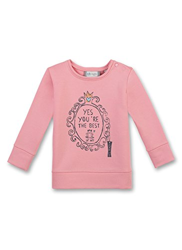 Sanetta Baby-Mädchen Sweatshirt 114164, Orange (Peach 2149), 74