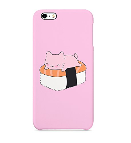 Sushi Cat Sleeping Pink Protective Case Cover Hard Plastic for Huawei P20 Pro Hard PC Funny Gift Christmas for Him for Her Cat Hard Case