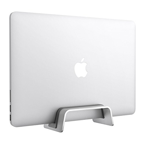 Soporte Vertical portátil [Ajustable] Aluminio MacBook