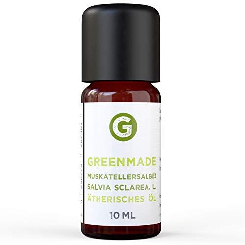 Salvia aceite-100% naturreines, aceite esencial 10ML de greenstyle