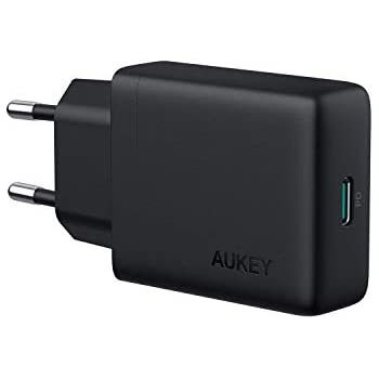 aukey usb c ladeger t 30w mit power delivery 3 0 amazon. Black Bedroom Furniture Sets. Home Design Ideas