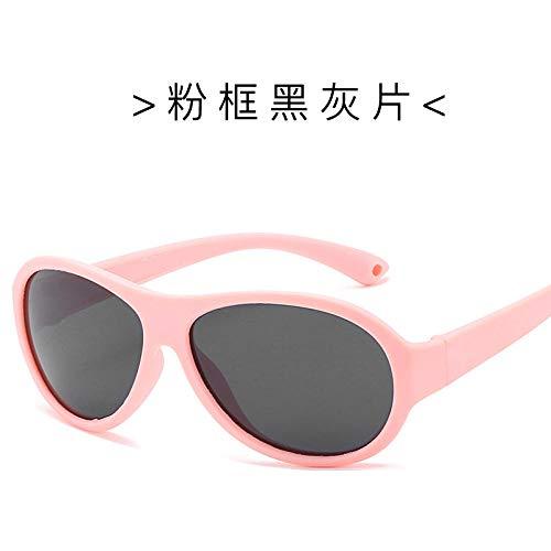 Polarisierte sonnenbrille kinder cartoon niedliche runde brille kinder trend street beat komfort sonnencreme pullover-4