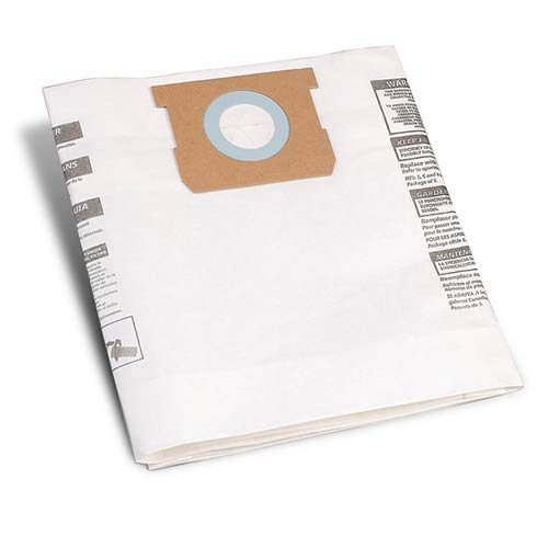 ShopVac Micro 4 Collection Staubbeutel, 4 l, 5 Stück -