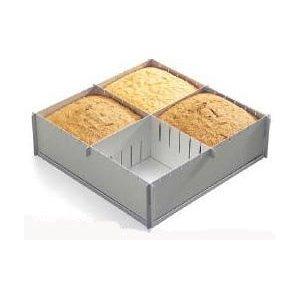 Alan Silverwood Teglia per torta pieghevole, multidimensione, profonda, 30 x