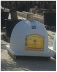 Sol-y-Yo Pizza Oven Venice - stone oven made of terracotta 52 cm