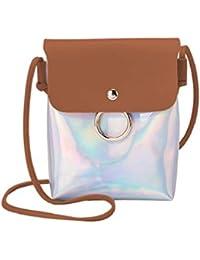 QUICKLYLY Bolso Mujer Bandolera Portatil Bolsa Mensajero Tote Shopper Callejero Bag Tirantes Carteras Mano Compras Mochilas…