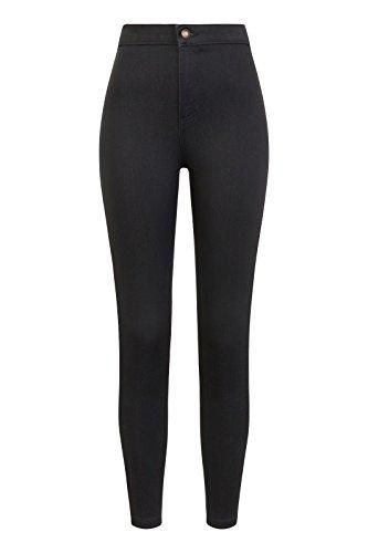 Ex Marks & Spencers 8605 2 Pocket Denim High Waist Skinny Jeggings Added Stretch