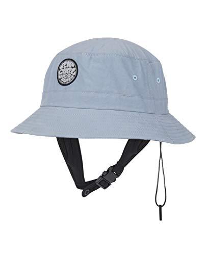 RIP CURL Wetty Surf Bucket Hat Grey - Unisex (Baumwolle Mesh Hat Bucket)