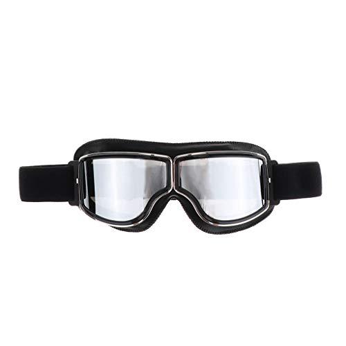 Occhiali Antipolvere Antivento Resistenti agli Urti Motocross Dirt Bike Open Face Helmet Occhiali - Occhiali Protettivi Sci Occhiali Protettivi - (Ob