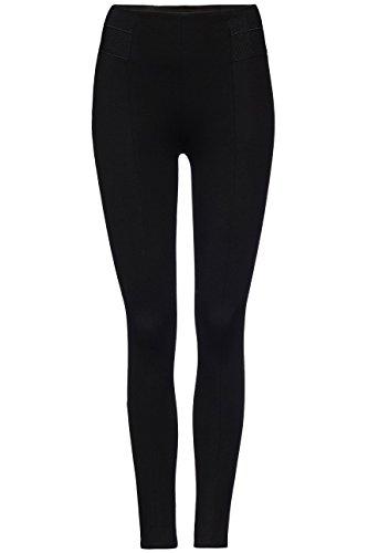 FIND Damen Legging mit Karottenschnitt Schwarz (Black)