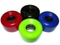 Sims Roues patin à roulettes x 4 - Noir