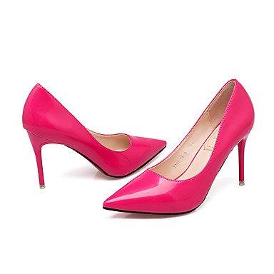 Moda Donna Sandali Sexy donna tacchi Primavera / Estate / Autunno tacchi / punta chiusa Casual Stiletto Heel Altri fuchsia