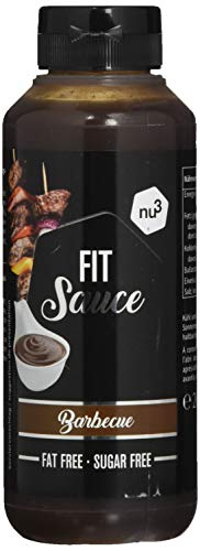 nu3 Smart Low Carb BBQ-Grill Sauce - Frei von Zucker und Fett - Sauce ohne Kalorien - Gesunde Alternative zu Ketchup und Barbecue Saucen