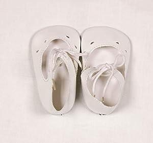 Zapato de Barniz para muñecas Sturm 3845-70, Color Blanco