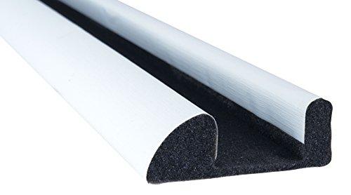 Stormguard interne Schaumstoff unter Tür Zugluftstopper–Weiß