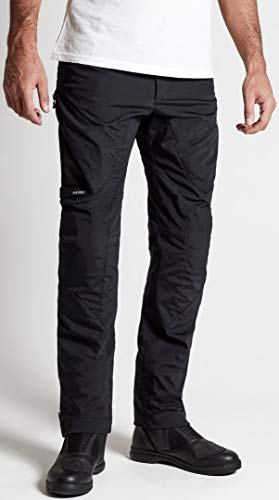 SPIDI PANTALONE TECNICO MOTO J74-026 STRETCH TEX NERO (XL)