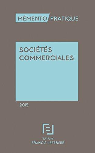 Mémento Sociétés commerciales 2015