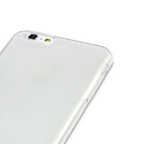 VPOWER® iPhone 6 (4,7 Zoll) Hülle TPU Case Schutzhülle Silikon Crystal Case Cover Klar Durchsichtig iPhone 6 Plus TPU