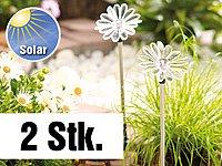 "Lunartec Solar-LED-Gartendeko ""Sonnenblume"", 2er-Set von Lunartec bei Lampenhans.de"