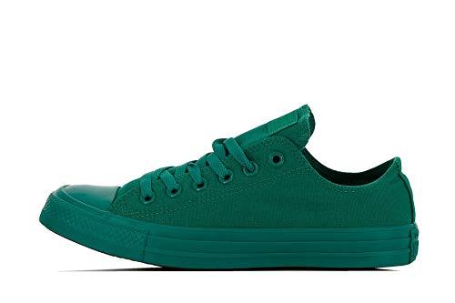 Converse Unisex-Erwachsene Chuck Taylor All Star Ox Sneaker Gymnastikschuhe, grün, 38 EU