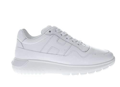 Hogan Junior Sneaker in Pelle H 371 Bambino Bianco 34 Taglia Europea : 34 EU