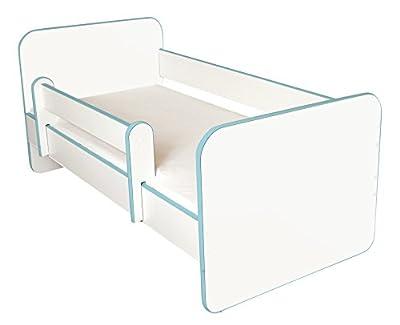 Cama De Toderno Con Moderno Free, Panellas Laterias Desmontadables Azul Edge )
