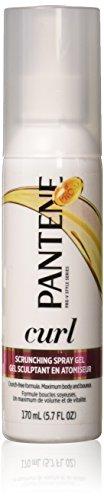 Pantene - Cheveux Bouclés Curl Renforcer Spray Gel, 5,7 Oz