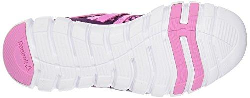 Reebok Sublite XT Cushion Grftmt, Scarpe da Corsa Donna Multicolor (CELESTIAL ORCHID / ICONO PINK / WHITE)
