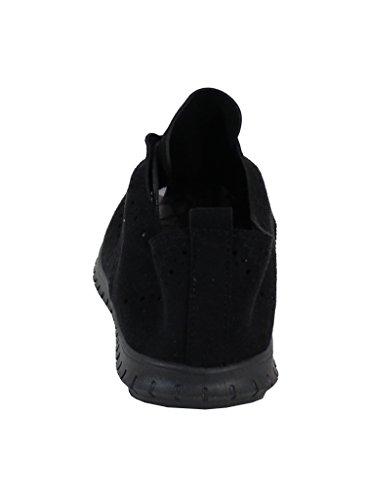 Chaussure Running Style Velours - No Name - Spéciale Été Noir